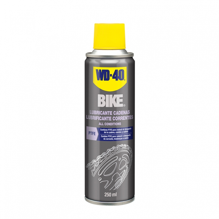 Lubricante para cadena de bici WD40